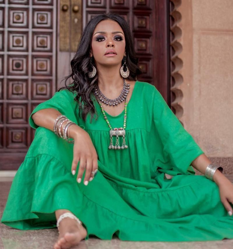"""بالصور: النجمة """"أسماء أبو اليزيد"""" تكشف حقيقة مشاركتها فى """"الكبير أوى"""" لـ أحمد مكى"""