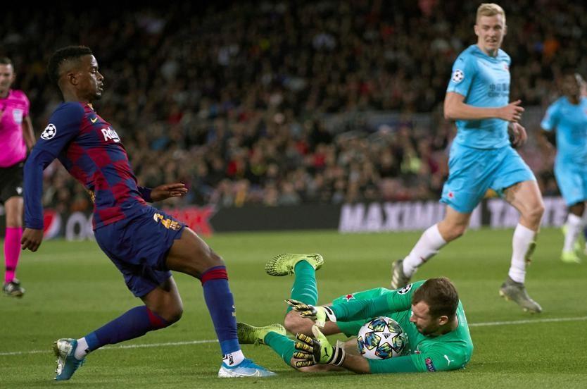 براج يخرج بتعادل من معركة برشلونة