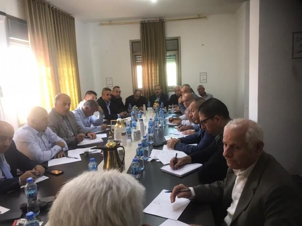 شاهد: العالول يترأس اجتماع قيادة حركة فتح لبحث إحياء ذكرى أبو عمار