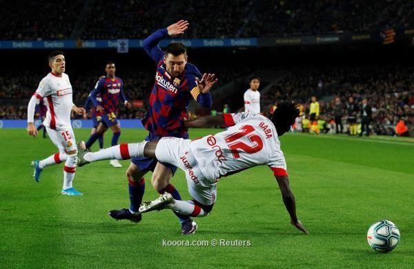 هاتريك ميسي يقود برشلونة لسحق مايوركا بخماسية