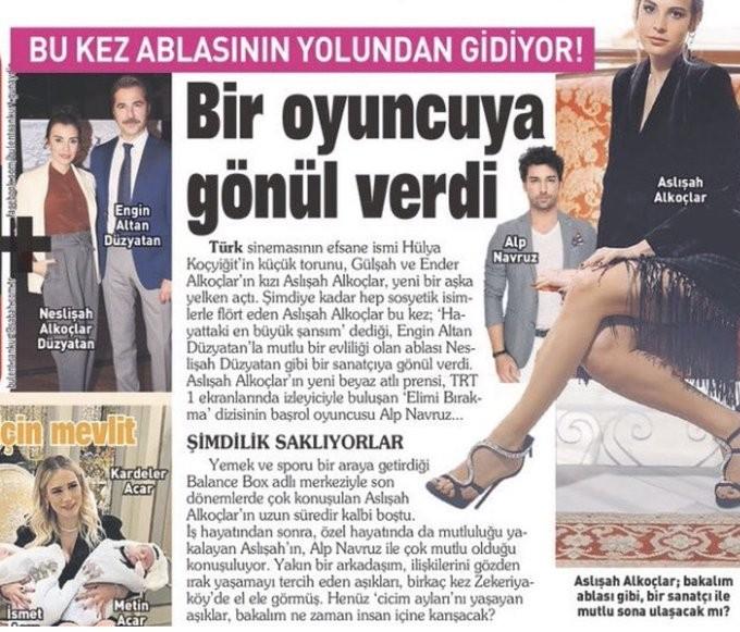 """شاهدوا: النجم التركي """" ألب نافروز"""" على خطى بطل """"أرطغرل"""" تجمعه علاقة بهذه الفتاة!"""