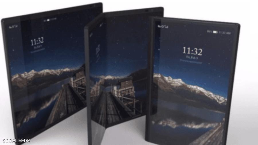 """الشركة الصينية """"هواوي"""" تعتزم إطلاق نسخة مطورة من هاتفها المطوي"""