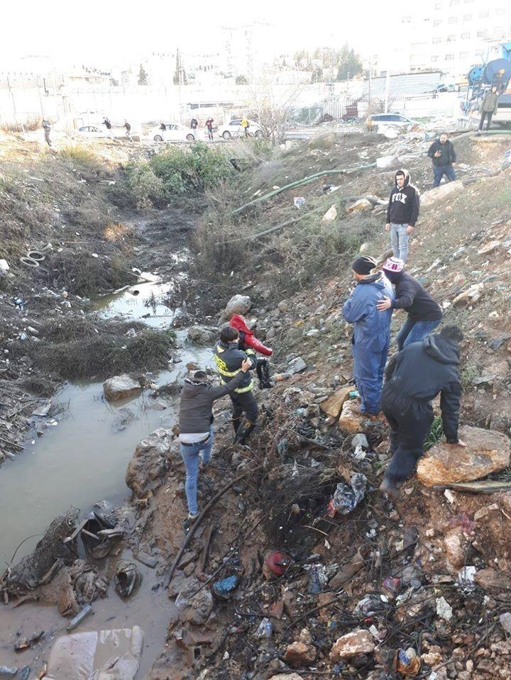 شاهد: وفاة الطفل قيس أبو رميلة في بيت حنينا شمال القدس