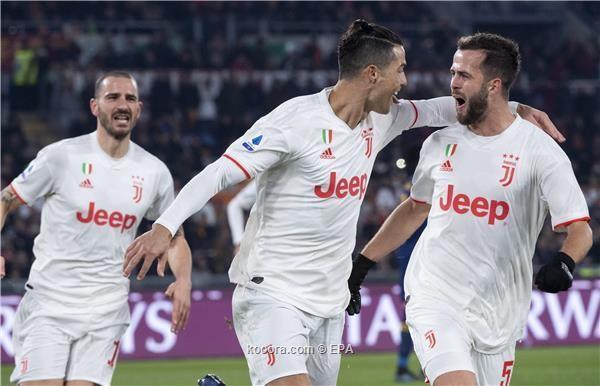 يوفنتوس يتصدور الدوري بعد فوز مستحق على روما