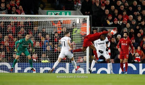 ريمونتادا تنقذ ليفربول من الخسارة الأولى بالدوري الإنجليزي