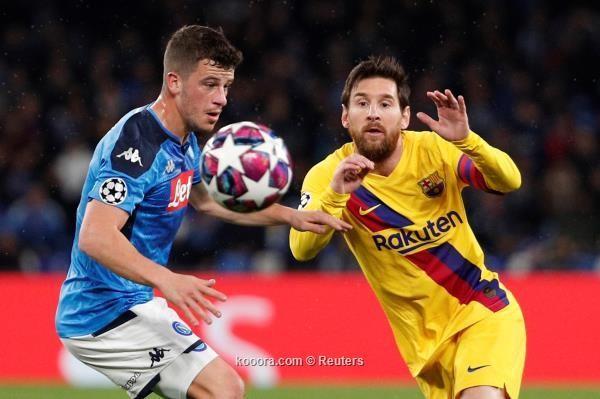 جريزمان ينقذ برشلونة من فخ نابولي
