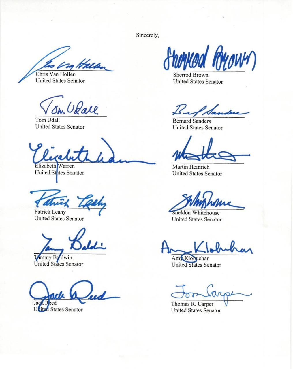 """شاهد: أعضاء في مجلس الشيوخ يوجهون رسالة لترامب تنتقد فيها """"صفقة القرن"""""""