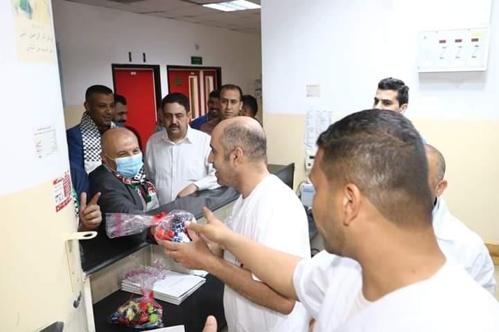 المكاتب الحركية الطبية بساحة غزة تعايد طواقم مستشفى الإندونيسي