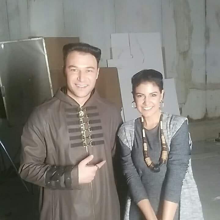 """بالصور: الفنانة المصرية """"ياسمين على"""" تطمئن جمهورها بصورة بعد طعنها فى مسلسل """"النهاية"""""""