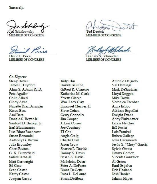 """189 عضو في مجلس النواب الأمريكي يُعربون عن قلقهم من """"خطة الضم"""""""