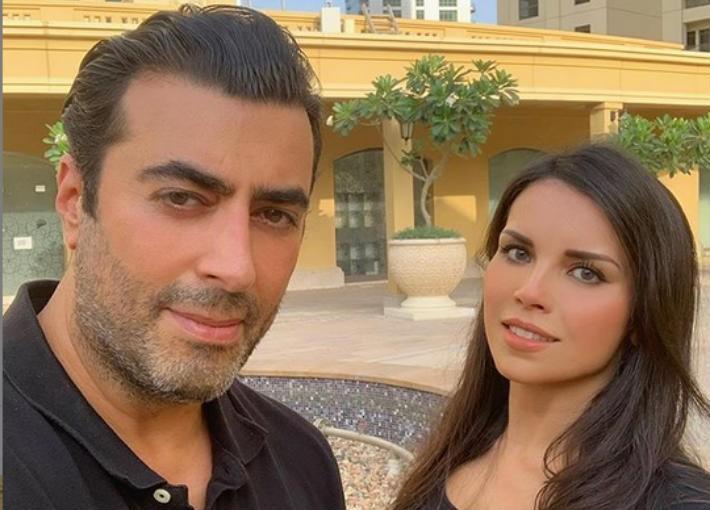 """شاهدوا: رسالة كوميدية من زوجة الممثل السوري """"باسم ياخور"""" له"""