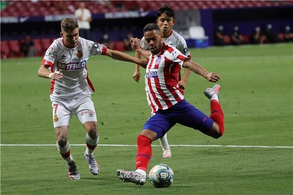بالصور : اتلتكو مدريد يسحق مايوركا بثلاثية نظيفة