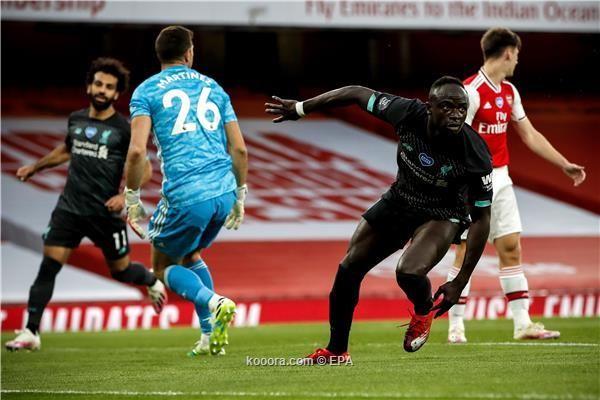 بالصور : اخطأ الدفاع فعاقب ارسنال فريق ليفربول