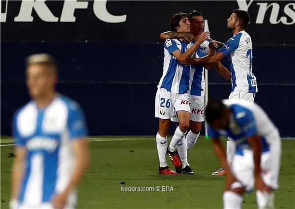بالصور: ريال مدريد يلقي بليجانيس في الدرجة الثانية