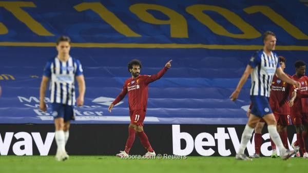 بالصور: إبداع صلاح يمنح ليفربول الانتصار على برايتون