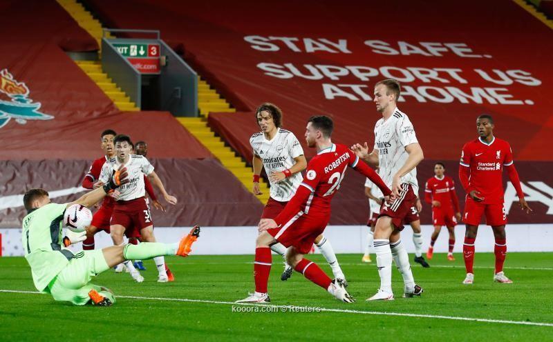 بالصور : ليفربول يحسم مباراة القمة بثلاثية في شباك ارسنال