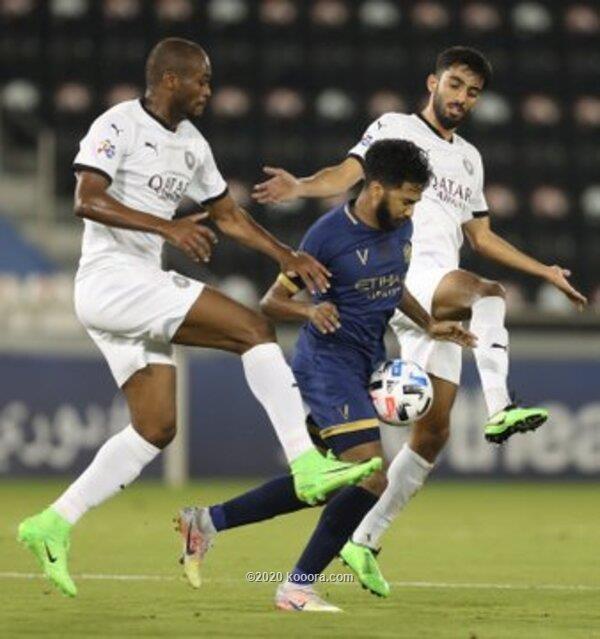 بالصور : السد القطري يتعادل مع النصر السعودي في الوقت القاتل