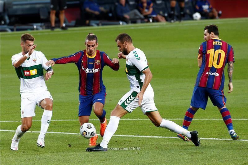 بالصور: برشلونة يتوج بكأس جوهان جامبر بقدم جريزمان