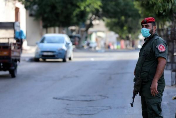 شاهد: الداخلية تفرض إجراءات مشددة في حيّ الصبرة بمدينة غزة