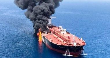انفجار ناقلة النفط العملاقة نيو دايموندفي سريلانكا.. محملة بكامل طاقتها