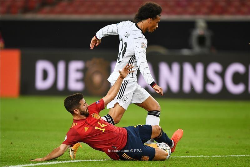 بالصور : اسبانيا تخطف تعادلا قاتلا امام المانيا