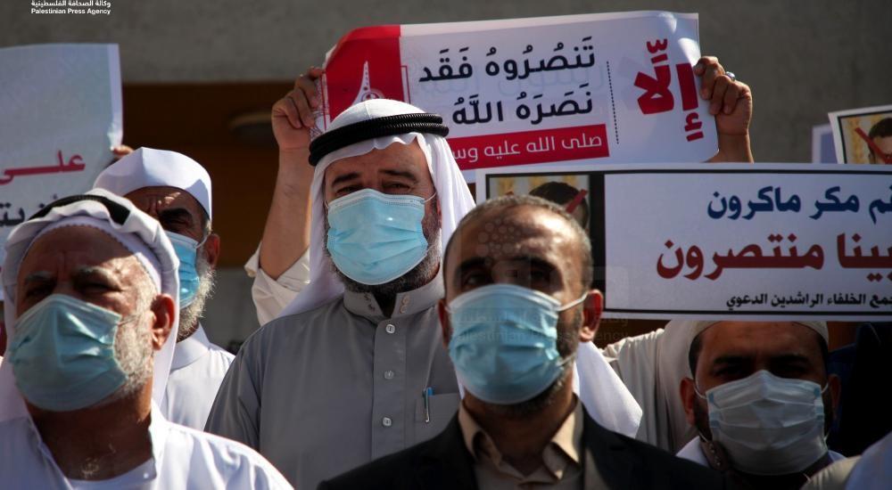 """علماء من غزة يشاركون بمسيرة نصرة للنبي """"محمد"""""""