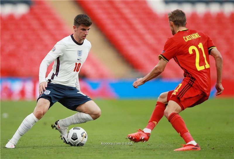 بالصور : المنتخب الانجليزي يوقف جموح البلجيكي بالفوز بهدفين