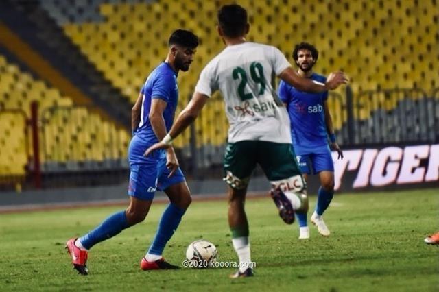 بالصور : الزمالك يتخطى المصري البورسعيدي بهدف يتيم في مباراة قوية