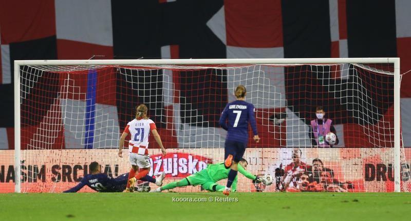 بالصور : فرنسا تنتزع فوزا صعبا على حساب كرواتيا
