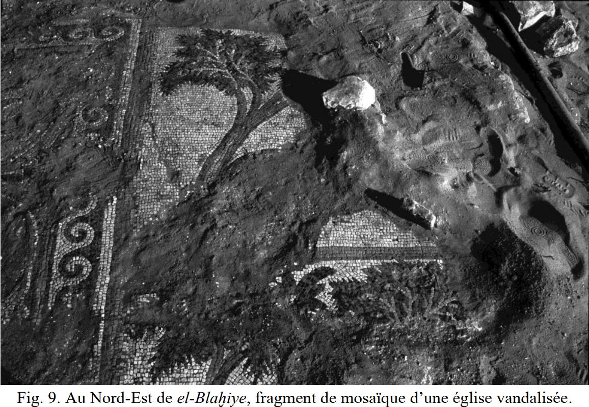 ارضية الفسيفساء التي دمرت من جهاز المخابرات الفلسطينية في غزة.png