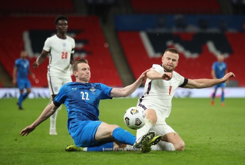 بالصور: المنتخب الإنجليزي يدك شباك الأيسلندي برباعية نظيفة