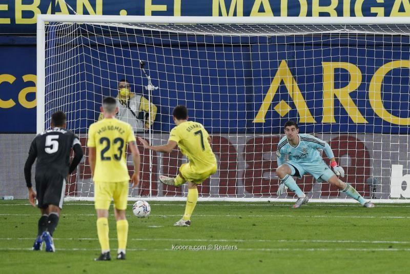 بالصور: ريال مدريد يواصل تخبطه بالتعادل مع فياريال