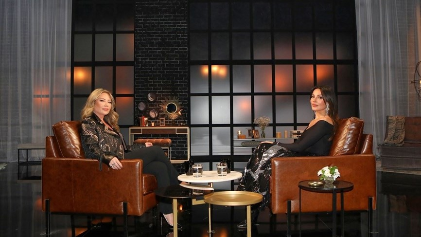 """بالفيديو   الممثلة اللبنانية  """"نادين نجيم"""" تتحدث عن والدتها التونسية"""