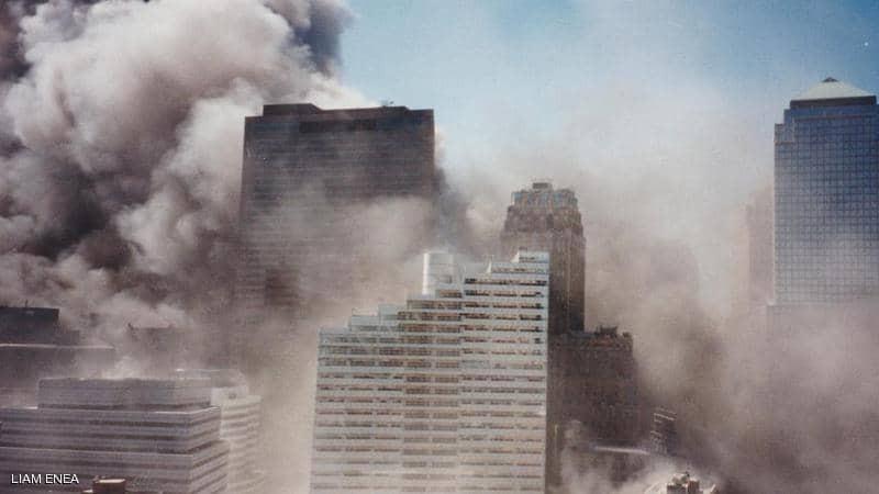 شاهدوا | اكتشاف صور غير مسبوقة لهجمات 11 سبتمبر في ألبوم عائلي