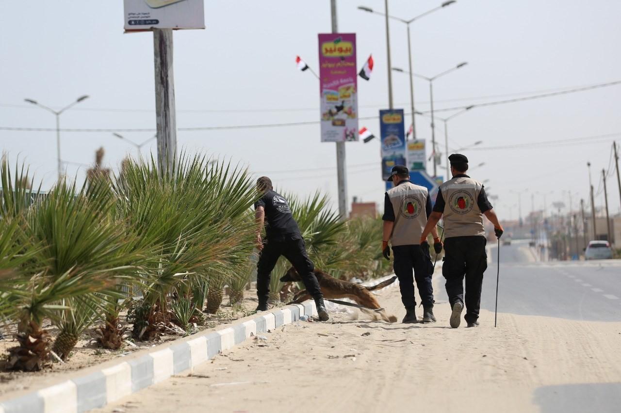 """غزة: انتشار أجهزة """"الداخلية"""" لتأمين زيارة وزير المخابرات المصري عباس كامل"""