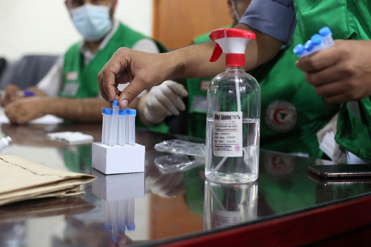 """داخلية غزة تبدأ بتطعيم كافة كوادرها ومنتسبيها بلقاح مضاد لـ""""كورونا"""""""