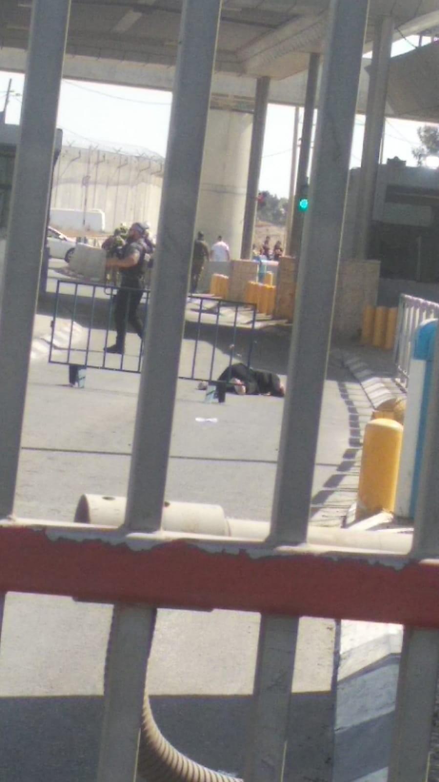 استشهاد مواطنة عقب إطلاق النار عليها من قبل جيش الاحتلال قرب حاجز قلنديا