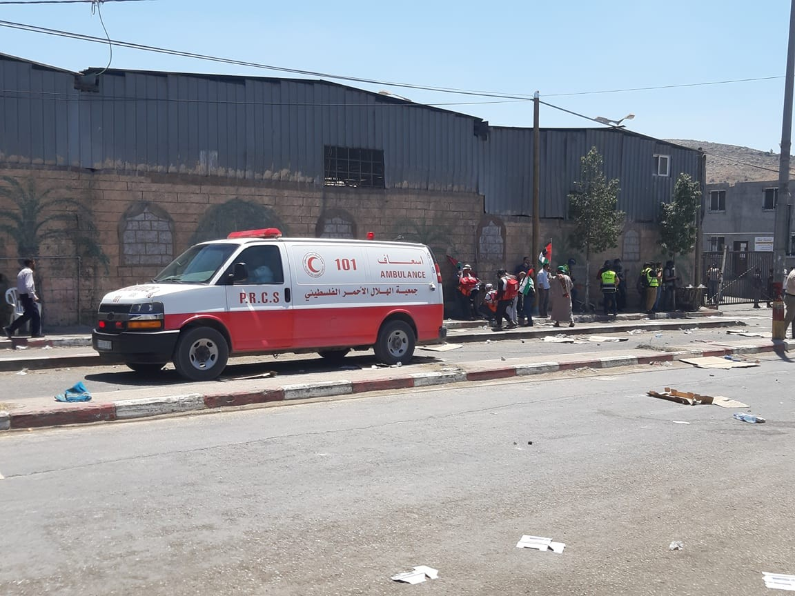 عشرات الإصابات خلال مواجهات مع الاحتلال جنوب نابلس