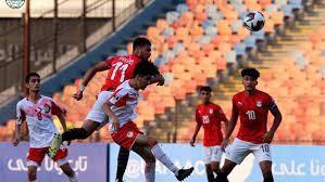 بالصور : شباب مصر يضربون طاجيكستان بثلاثية في ربع نهائي كأس العرب