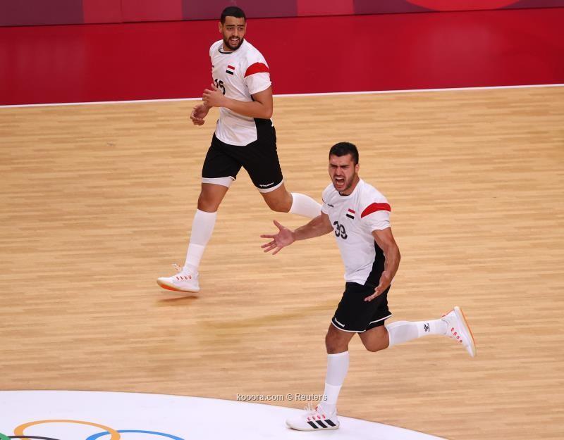 بالصور: يد مصر تقهر السويد وتبلغ ربع نهائي الأولمبياد