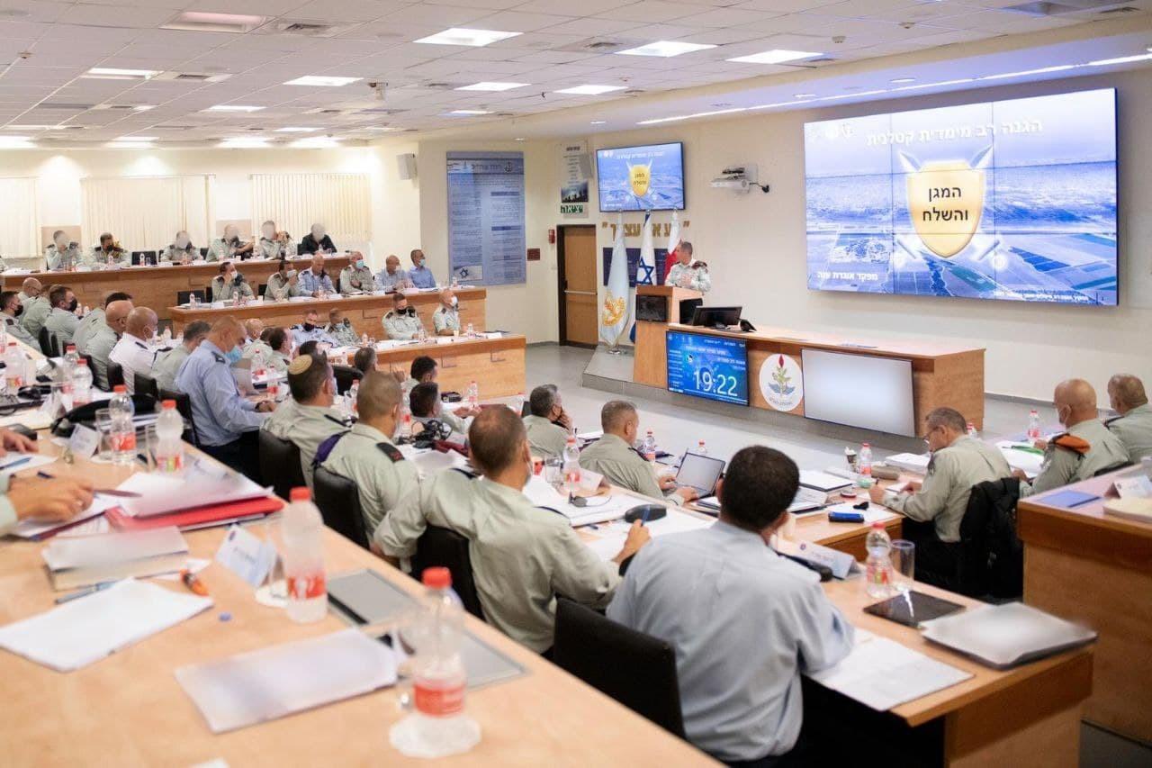جيش الاحتلال يُنهي اجتماعاً حول تعلم الدروس من العدوان الأخير على غزة