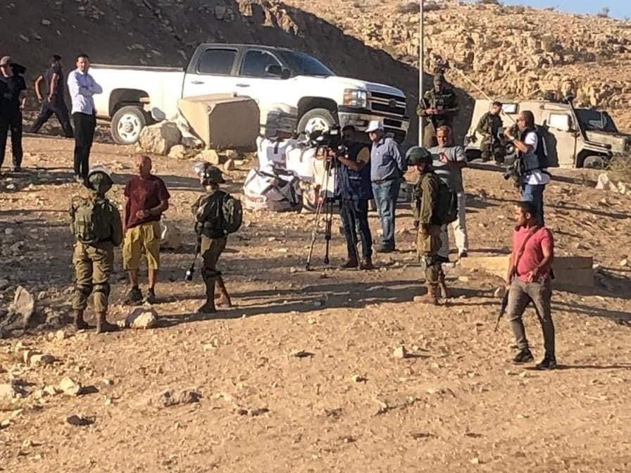 الاحتلال يقمع مسيرة رافضة للاستيطان في الأغوار الشمالية