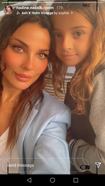 """شاهدوا   الممثلة اللبنانية """"نادين نجيم"""" تلفت الأنظار إلى أحدث ظهور لها برفقة طفليها"""