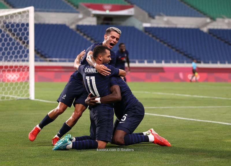 بالصور.. فوز مثير لفرنسا على جنوب أفريقيا بالأولمبياد