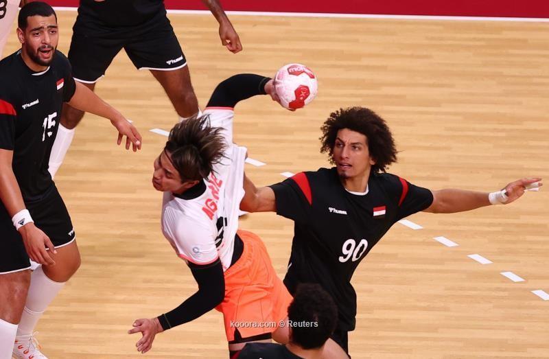 بالصور.. يد مصر تهزم اليابان وتقترب من ربع نهائي الأولمبياد
