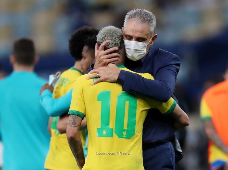 بالصور :  نيمار ينهار بعد خسارة البرازيل في نهائي كوبا أمريكا