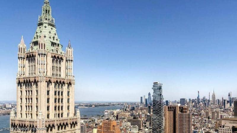 """شاهد :  شقة مذهلة للبيع ثمنها """"79"""" مليون دولار على ارتفاع شاهق"""
