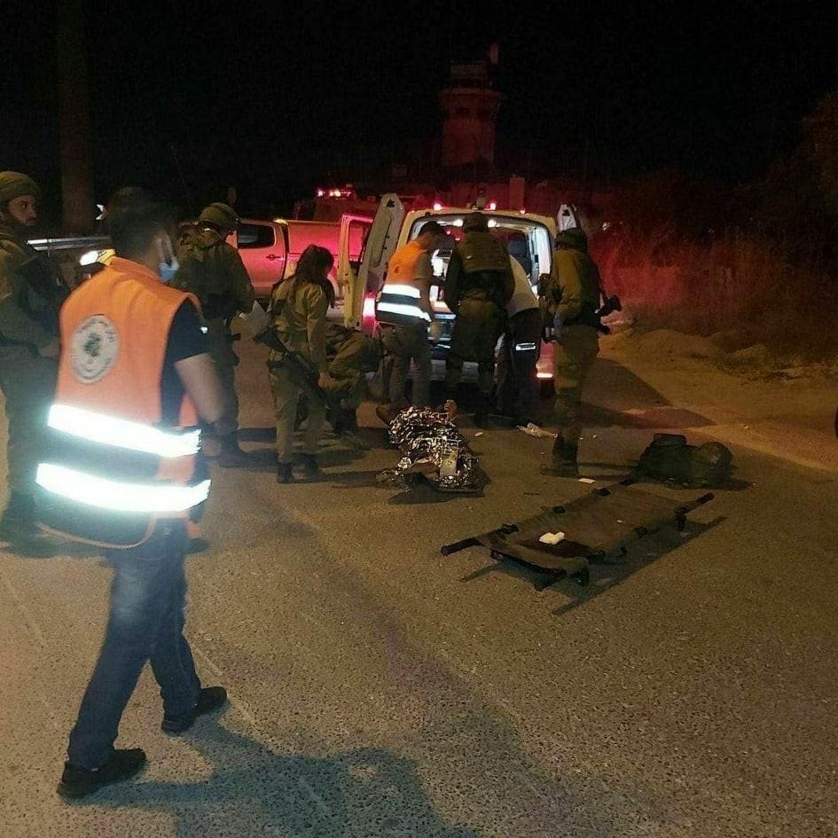 """بالفيديو: استشهاد مواطن برصاص الاحتلال قرب بلدة """"بيت عور"""" برام الله"""