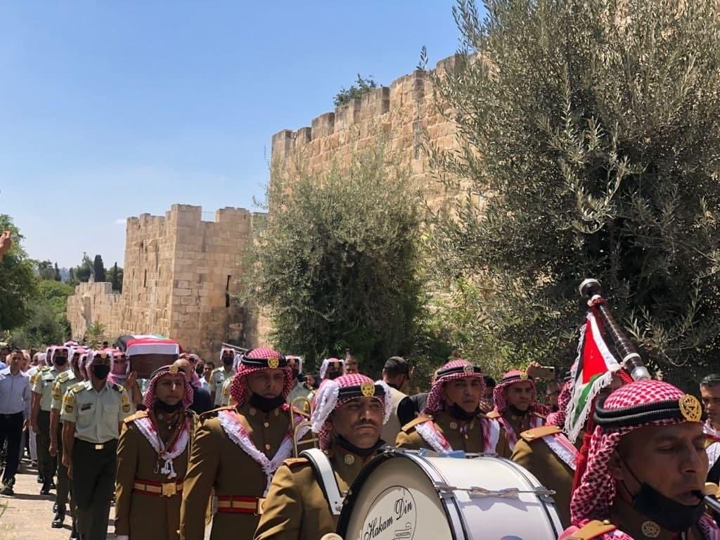 تشييع رفات جندي أردني عثر عليه في حي الشيخ جراح قبل أسابيع