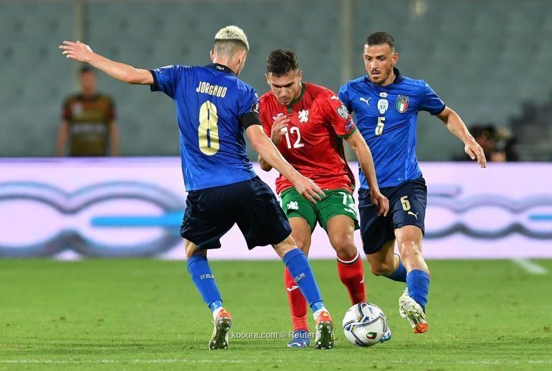 بالصور.. بلغاريا تفرض التعادل على إيطاليا
